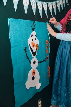 FROZEN Birthday Party! — Medium-or cute idea for Xmas parties