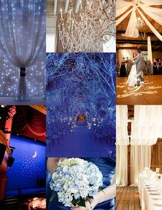 Winter Wonderland Wedding Ceremony Christmas Snow