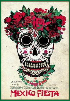Mexico Fiesta, Polish Poster kaja