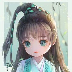 save = flow me (Trinh Nguyễn) Lolis Anime, Cute Anime Chibi, Kawaii Chibi, Anime Angel, Kawaii Anime, Cute Animal Drawings, Colorful Drawings, Cute Drawings, Chibi Boy