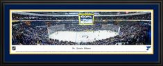 St. Louis Blues NHL Posters - Panoramic Fan Cave Decor
