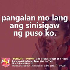 Kaninong pangalan ang isisigaw niyo sa Cuneta Astrodome bukas? by #philippinesuperliga http://ift.tt/1I9rVXt