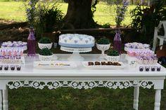 bridal shower - mesa dos doces
