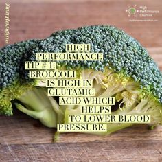 High Performance Tip #1: Broccoli is high in glutamic acid which helps to lower blood pressure.  #broccoli #bloodpressure #bloodwork #quantifiedself #measure #change #biohacking #biohack #transformation #health #life #business #vetlife #coach #coaching #highperformance #veterinarian #lifeprint #vetstudent #vettech #vetschool #success #veterinary #instavet #highperformancelifeprint #vetstudentlifeprint #hpl #highperfliving #actiontips