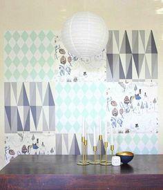 Coole Wand Dekoration Ideen - Mosaik Tapeten