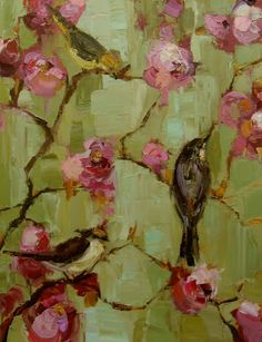 """""""Spring Morning"""" 18x24"""" oil on canvas by Kathryn Morris Trotter"""