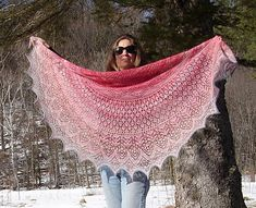 O-M-G --- Vernal Equinox Shawl Surprise by Lankakomero free knitting pattern (in English, French, Portuguese, Danish, German, Finish and Estonian) on Ravelry at http://www.ravelry.com/patterns/library/vernal-equinox-shawl-surprise