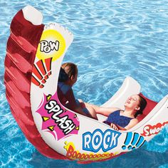 Aqua Rocker Inflatable Swimming Pool Toy Float Lounge