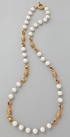WGACA Vintage Vintage Chanel Pearl Necklace