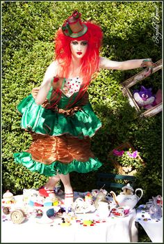 Alice in Wonderland, Mad Hatter Photography