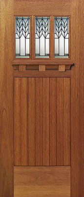 LOVE this craftsman door! This door is about to be mine...or one that looks very similar!