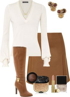 Looks chic and comfortable Mode Outfits, Chic Outfits, Fashion Outfits, Womens Fashion, Fashion Trends, Fashion Ideas, Skirt Outfits, Business Fashion, Business Attire