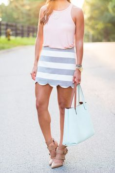 topshop skirt  // a southern drawl