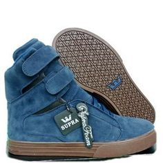 supra buty tk society blue suede womens high tops boats