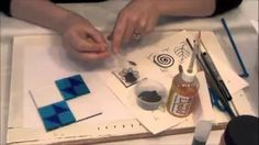 fused glass techniques - YouTube