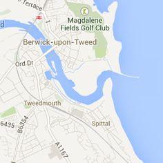 berwick - Google Maps Berwick Upon Tweed, Maps, Google, Cards, Map