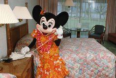 Vintage Walt Disney World: Minnie Visits Disney's Polynesian Resort