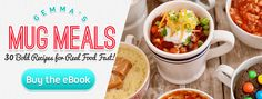Microwave Mug Meals: 5 Unbelievable Recipes