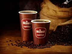 Get that warm, fuzzy feeling with a cup of your favorite Wawa Coffee!