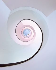 Spiral staircase architecture in a department store in Helsinki.  Flickr