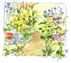 watercolor journaling | In and Out of The Studio