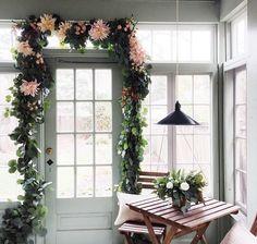 flowery entrance way :)