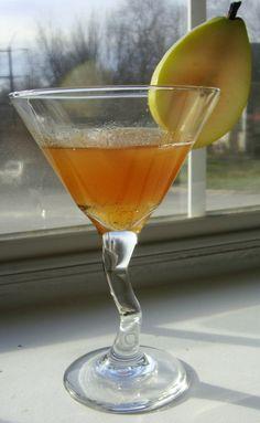 "Pear ""Sauce""- A Bourbon Cocktail"