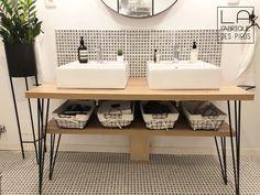 Earth Homes, Entryway Decor, Double Vanity, Diy Home Decor, Easy Diy, Sink, New Homes, House Design, Shelves