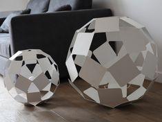 Online kaufen Dancing square lamp By specimen editions, tischleuchte / stehleuchte aus stahl Design Nendo