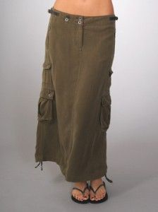 Cargo Skirt....why oh why is it so difficult to find a actual cargo skirt but I can seem  to find picture everywhere?