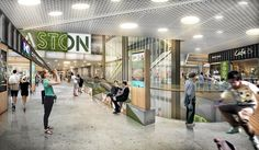 Easton Helsinki. Insight, strategy and multi-disciplinary design for a major commercial retail development.