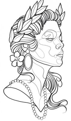 21 Trendy drawing woman tattoo sketch tattoo designs ideas männer männer ideen old school quotes sketches Tattoo Sketches, Tattoo Drawings, Drawing Sketches, Art Drawings, Kunst Tattoos, Bild Tattoos, Sketch Inspiration, Woman Inspiration, Tattoo Zeichnungen