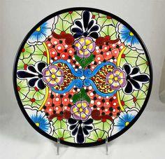 "Talavera Dinner Plate - 11"""