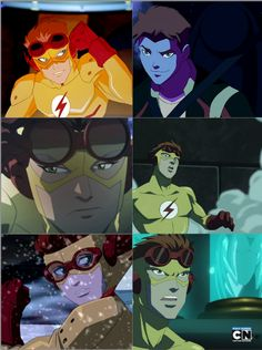 Young Justice- Kid Flash/ Wally West