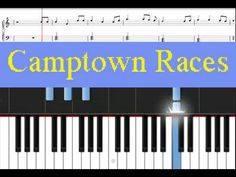 Download free Camptown Races sheet music (with guitar chords). There are three chords used in this song – C chord, G chord, and F chord. Blank Sheet Music, Free Sheet Music, Easy Piano Songs, Kids Songs, Teach Yourself Piano, Piano Lessons For Beginners, Best Piano, Play, Stephen Foster