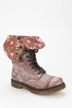 Dr. Martens Triumph 1914 Floral Boot  #UrbanOutfitters  i need these shoes!!!!!!!!!!!!!!!!!!!!!