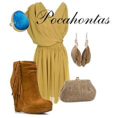 Pocahontas outfit awesome