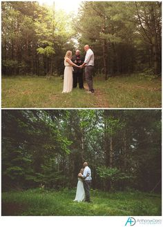 One of the most intimate weddings we have ever shot. A Pure Michigan woods wedding, with photos by Lake Huron after. This is the wedding photography we love.