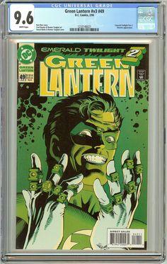 Green Lantern #49 (1994) CGC 9.6 White Pages 1233146021
