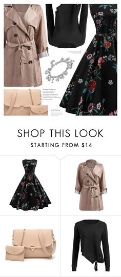 """""""A Sweet Date Look with Rosegal"""" by amberelb ❤ liked on Polyvore"""