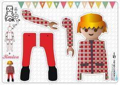 T-ok. Playmobil pantin.
