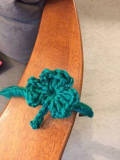 Shamrock headband by slbcrochetandfiber on Etsy