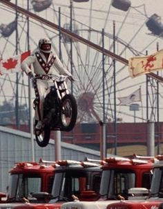 Evel Knievel-he is a role model for danger.He is the most well known daredevil of all times.He broke many world records.