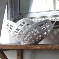 Carved Porcelain Bowl-$525-Etsy-Isabellea Bramson