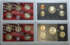 The Complete Collection of U s Silver Proof Coin Sets | eBay