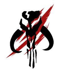 Rage of the Shadow Warriors - Star Wars: Republic Commando Star Wars Fan Art, Mandalorian Skull, Mandalorian Cosplay, Boba Fett Tattoo, Boba Fett Symbol, Boba Fett Logo, Jango Fett, Figuras Star Wars, Chasseur De Primes
