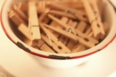 I keep a bowl of clothes pins in my pantry...they make handy clips to keep my chip and cracker bags closed.
