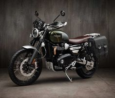Triumph Motorcycles have announced the spectacular new Scrambler 1200 line-up. The Scrambler 1200 XC (built for the road), and the Scrambler 1200 XE (built for off-road riding), combine adventure motorcycle capability with scrambler style. Both bikes Indian Motorcycles, Triumph Motorcycles, Triumph Scrambler Custom, Triumph 1200, Triumph Street Scrambler, Triumph Cafe Racer, Scrambler Motorcycle, Girl Motorcycle, Custom Choppers