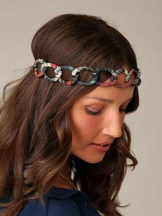 DIY – Fabric Chain Headband