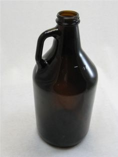 Amber Growler Loop Jugs - 1/2 Gallon Great for Customer Coffee! Won't show that coffee stain that just happens over time! Great Price!